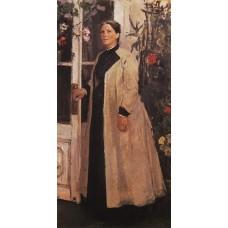 Portrait of olga orlova 1889