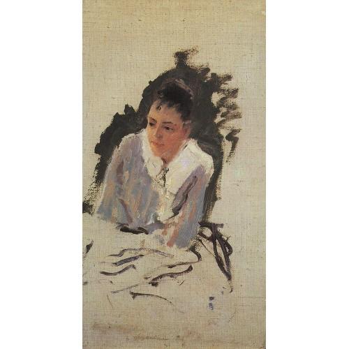 Portrait of the artist m v yakunchikova