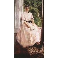 Portrait of the artist tatiana spiridonovna lyubatovich