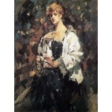 Portrait of z pertseva 1921