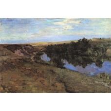River in menshov 1885