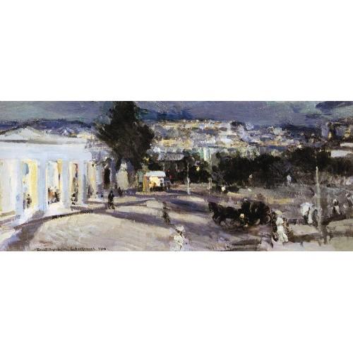 Sevastopol in the evening 1915
