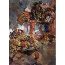 Still life with blue vase 1922