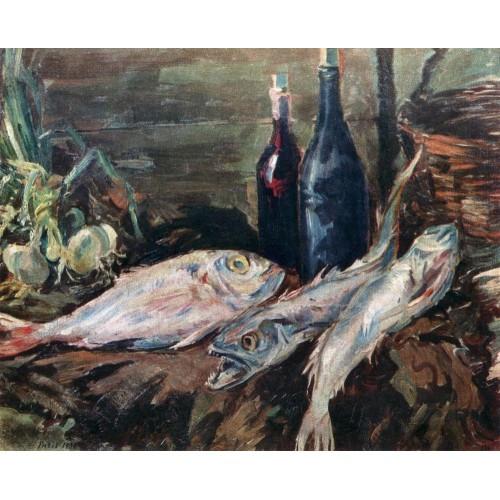 Still life with fish 1930