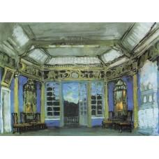 Summer office of prince vasily golitsyn 1911