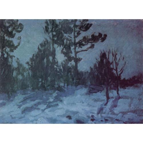 Winter night 1910