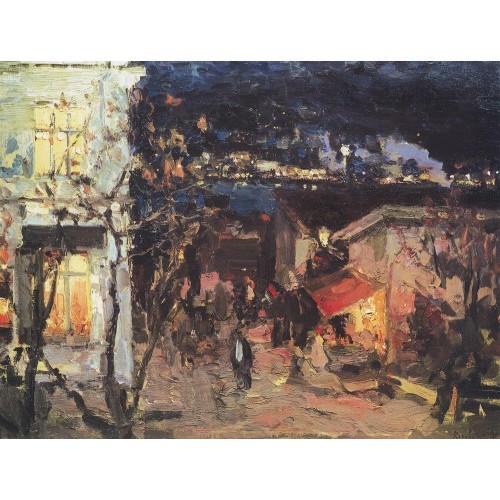 Yalta at night 1905