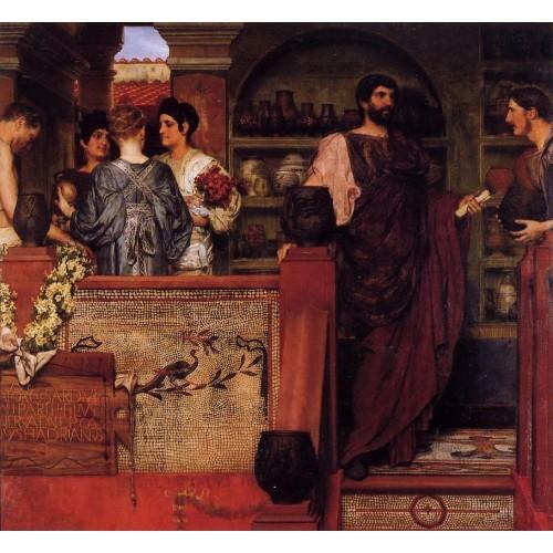 Hadrian Visiting a Romano British Pottery