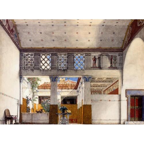 Interior of Caius Martius's House