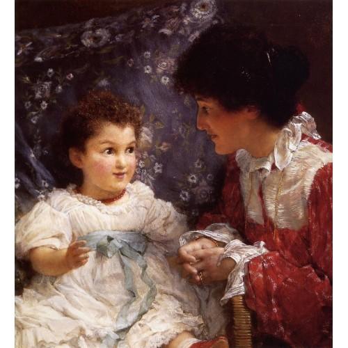 Mrs George Lewis and Her Daughter Elizabeth