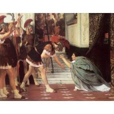 Proclaiming Claudius Emperor