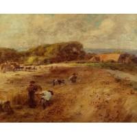 Harvesters near the Farm of Sambre