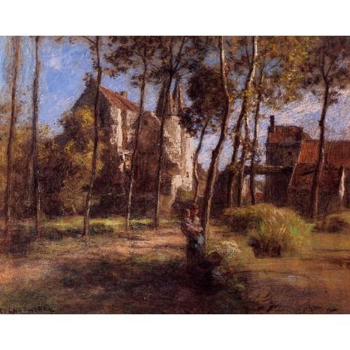 The Chateau d'Armentieres sur Ourcq