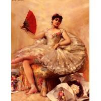 Portrait of the Ballerina Rosita Mauri
