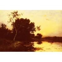 Le lac Au Crepuscule