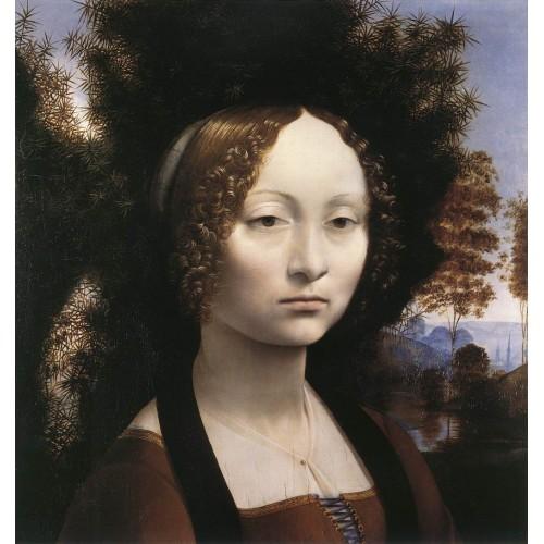 Portrait of Ginevra de' Benci