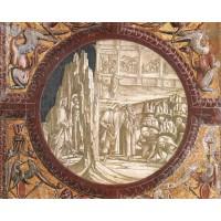 Dante and Virgil Entering Purgatory