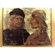 Self portrait with Vitelozzo Vitelli
