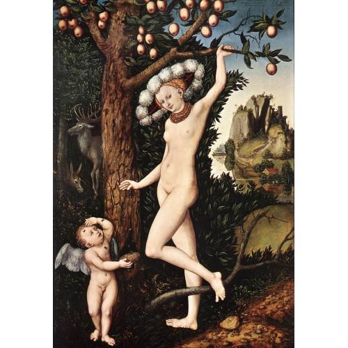 Cupid Complaining to Venus