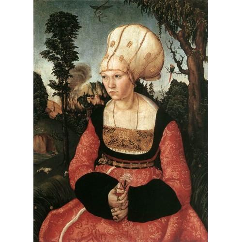 Portrait of Anna Cuspinian