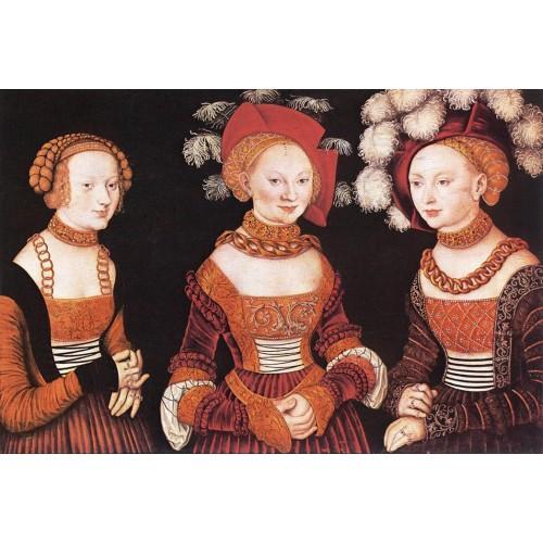 Saxon Princesses Sibylla Emilia and Sidonia