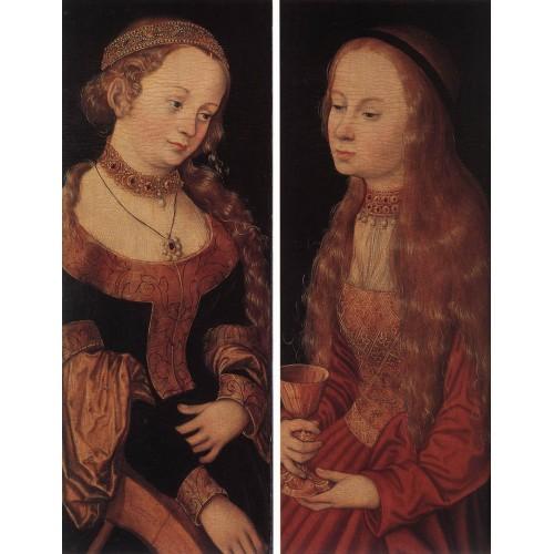 St Catherine of Alexandria and St Barbara