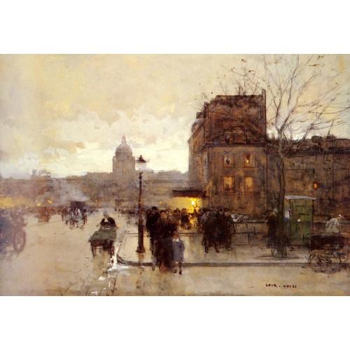 Boulevard Henri IV Crepuscule