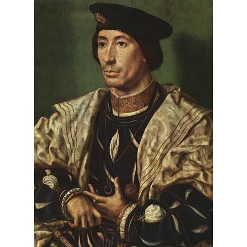 Portrait of Baudouin of Burgundy