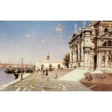 A View of Santa Maria della Salute Venice