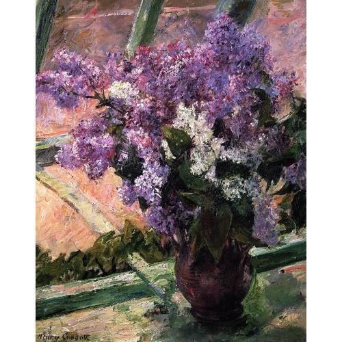 Lilacs in a Window