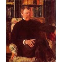 Portrait of Alexander J Cassatt