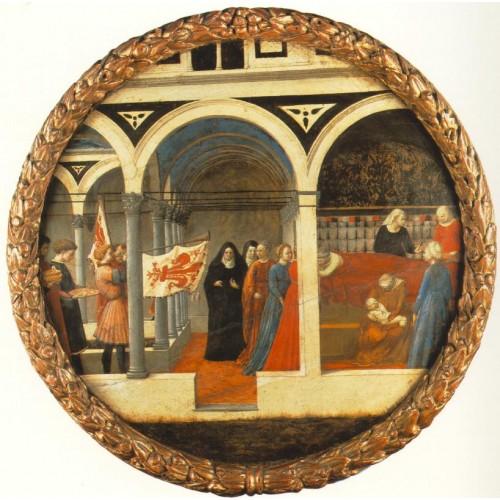 Plate of Nativity (Berlin Tondo)