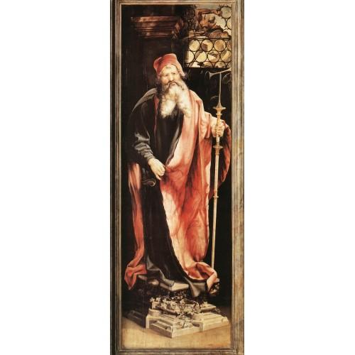 Isenheim Altarpiece St Antony the Hermit