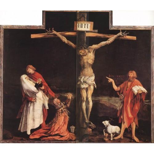 Isenheim Altarpiece The Crucifixion
