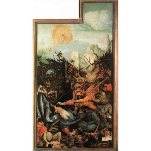 Isenheim Altarpiece (third view) The Temptation of St Anto