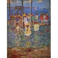 Children on a Raft
