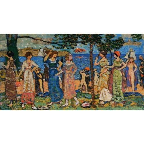 Women at the Seashore
