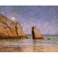 Moonrise Bay of Douarnenez