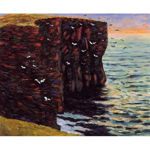 The Black Cliffs at Thurso Ecosse