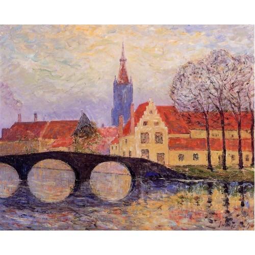 The Leguenay Bridge Bruges