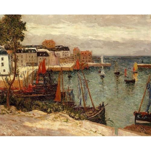 The Port of Sauzon Belle Isle en Mer