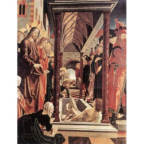 St Wolfgang Altarpiece Resurrection of Lazar
