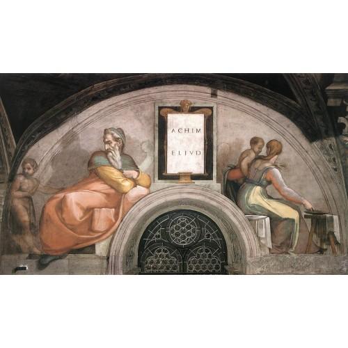 Ancestors of Christ Achim Eliud