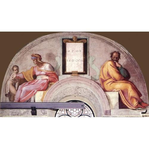 Ancestors of Christ Azor Zadok