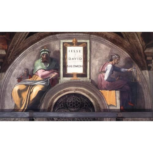 Ancestors of Christ Jesse David Solomon