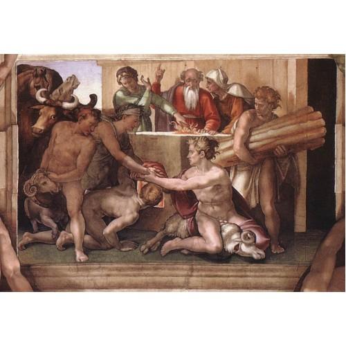Genesis 7 Sacrifice of Noah