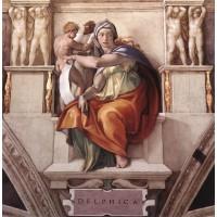 Sibyls The Delphic Sibyl