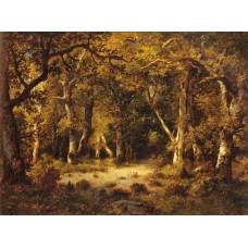 En foret de Fontainebleau