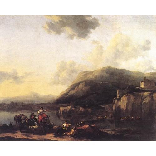 Landscape with Jacob Rachel and Leah