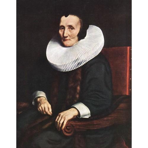 Portrait of Margaretha de Geer Wife of Jacob Trip
